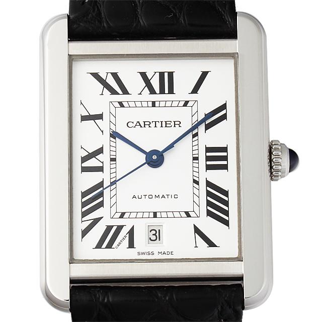 【期間限定ポイント最大10倍!1月24日(木)20時開始】カルティエ タンクソロ XL W5200027 メンズ(0066CAAN0756)【新品】【腕時計】【送料無料】