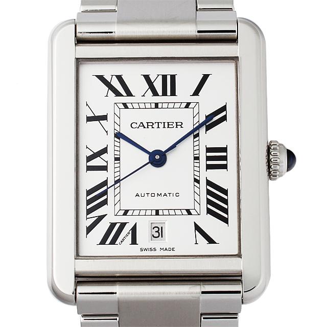 【48回払いまで無金利】カルティエ タンクソロ XL W5200028 メンズ(0066CAAN0693)【新品】【腕時計】【送料無料】