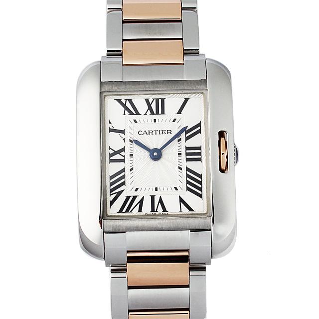【48回払いまで無金利】カルティエ タンクアングレーズ SM W5310036 レディース(0066CAAN0498)【新品】【腕時計】【送料無料】