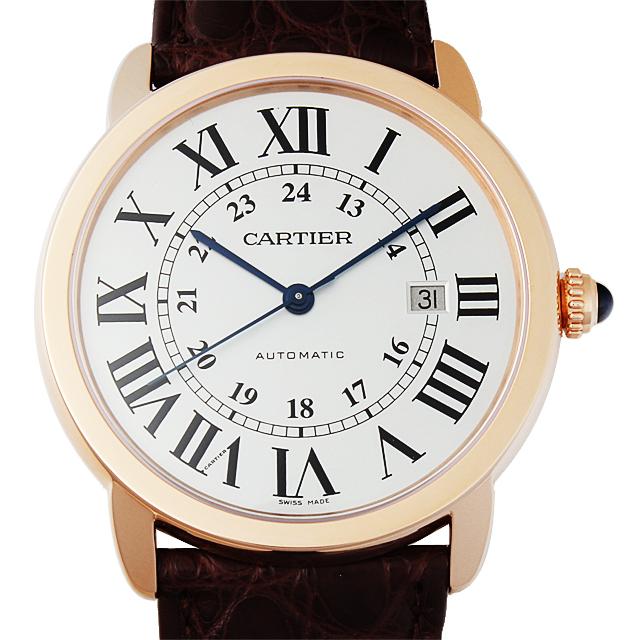 【48回払いまで無金利】カルティエ ロンドソロ ドゥカルティエ XL W6701009 メンズ(0066CAAN0769)【新品】【腕時計】【送料無料】