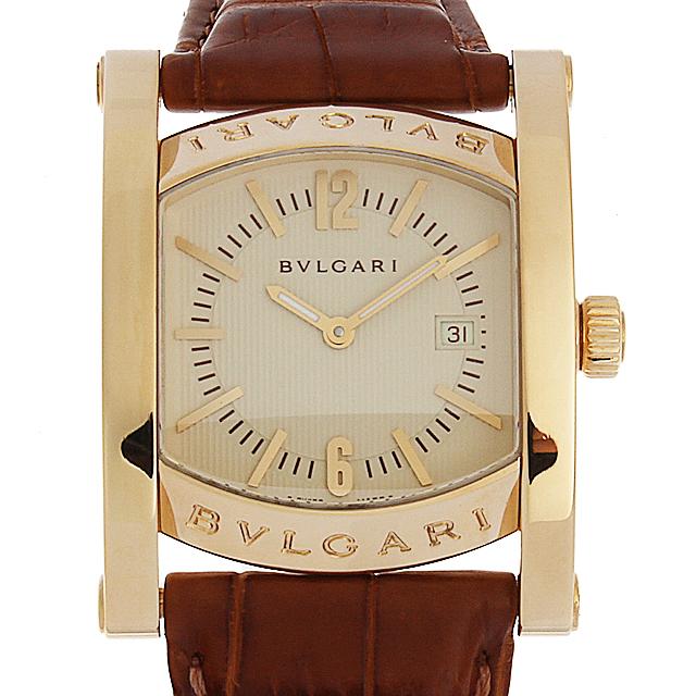 【48回払いまで無金利】ブルガリ アショーマ AA39C13GLD レディース(12BVU000044)【中古】【腕時計】【送料無料】