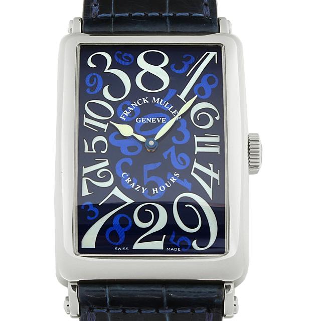 【48回払いまで無金利】フランクミュラー ロングアイランド クレイジーアワーズ 1200CH OG メンズ(12FRU000181)【中古】【腕時計】【送料無料】