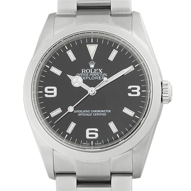 【48回払いまで無金利】ロレックス エクスプローラーI F番 114270 メンズ(9MROU000072)【中古】【腕時計】【送料無料】