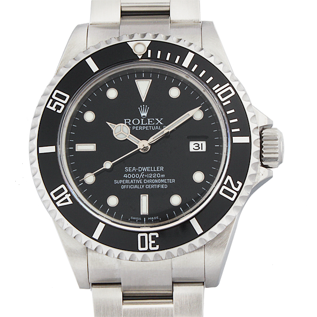 【48回払いまで無金利】SALE ロレックス シードゥエラー Z番 16600 メンズ(9VROU000013)【中古】【腕時計】【送料無料】