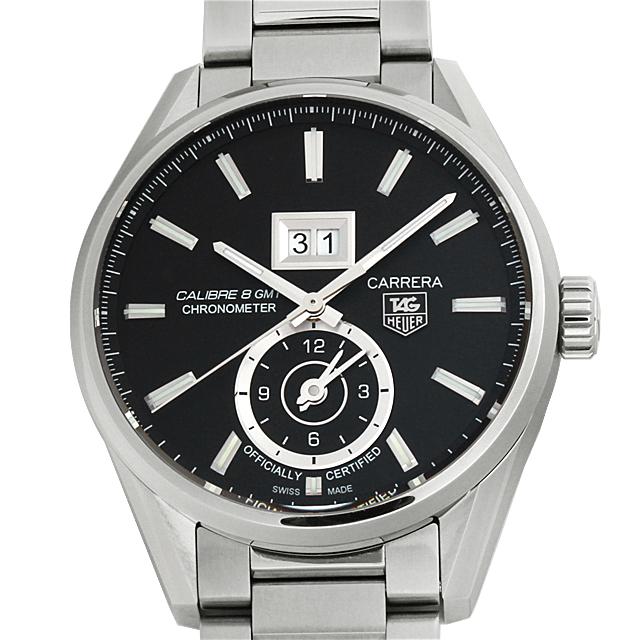 【48回払いまで無金利】タグホイヤー カレラ グランドデイト GMT WAR5010.BA0723 メンズ(004YTHAN0043)【新品】【腕時計】【送料無料】【キャッシュレス5%還元】