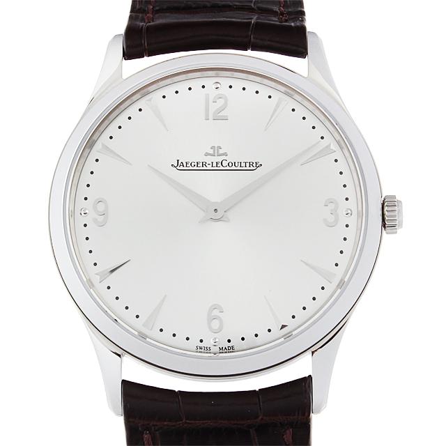 【48回払いまで無金利】ジャガールクルト マスターウルトラスリム Q1348420 メンズ(12JLU000069)【中古】【腕時計】【送料無料】