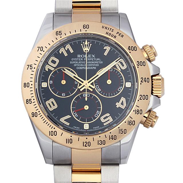 【48回払いまで無金利】ロレックス コスモグラフ デイトナ ランダムシリアル 116523 ブルー/アラビア メンズ(12ROU000717)【中古】【腕時計】【送料無料】