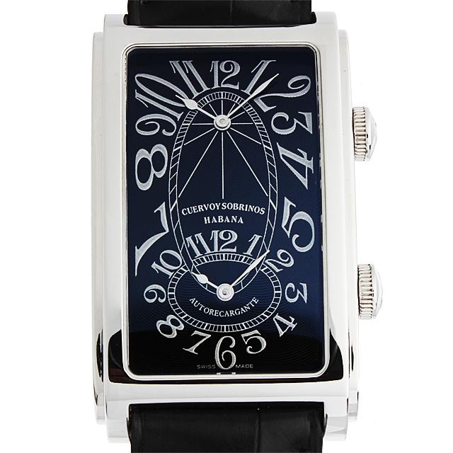 【48回払いまで無金利】クエルボ・イ・ソブリノス プロミネンテ デュアルタイム A1112-2 メンズ(6XCSS000001)【未使用】【腕時計】【送料無料】