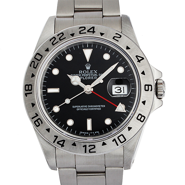 【48回払いまで無金利】ロレックス エクスプローラーII X番 16570 メンズ(87ROU000097)【中古】【腕時計】【送料無料】