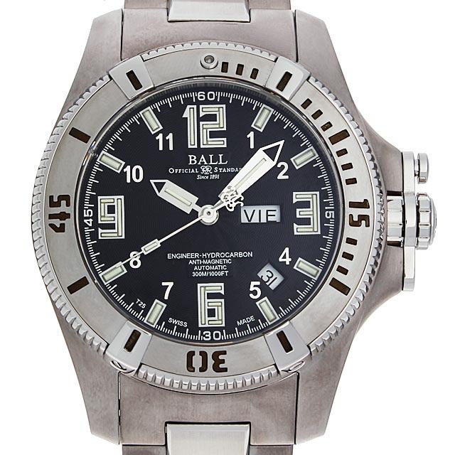 【48回払いまで無金利】ボールウォッチ エンジニア ハイドロカーボン チタン DM1036A-SAJ-BK メンズ(8WBLU000002)【中古】【腕時計】【送料無料】