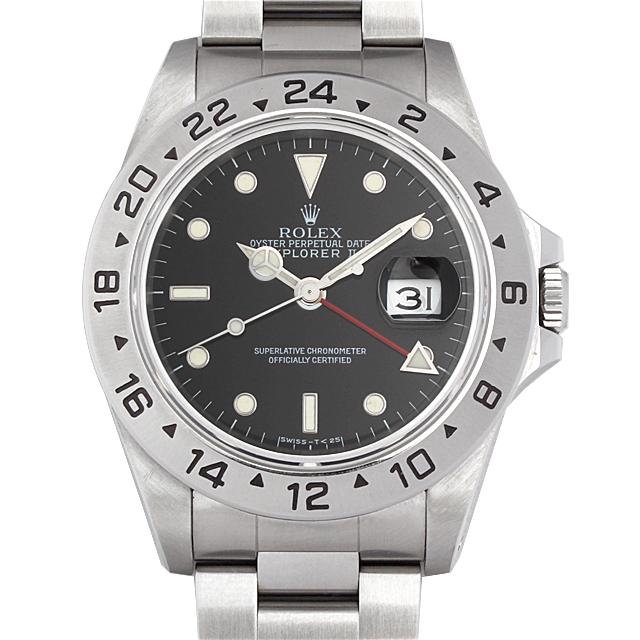 【48回払いまで無金利】ロレックス エクスプローラーII X番 16570 メンズ(9MROU000080)【中古】【腕時計】【送料無料】