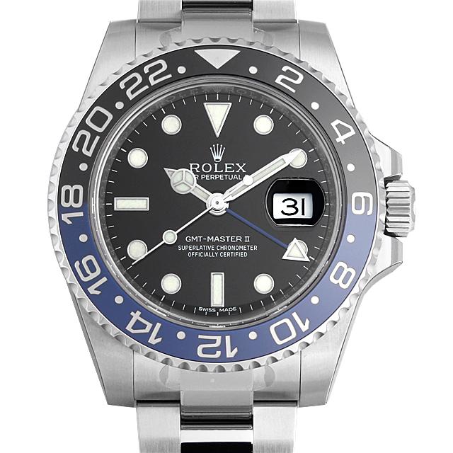 【48回払いまで無金利】ロレックス GMTマスターII 116710BLNR メンズ(0CCTROAN0063)【新品】【腕時計】【送料無料】