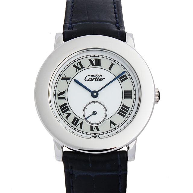 【48回払いまで無金利】カルティエ マストII ロンド W1006718 レディース(0050CAAU0003)【中古】【腕時計】【送料無料】