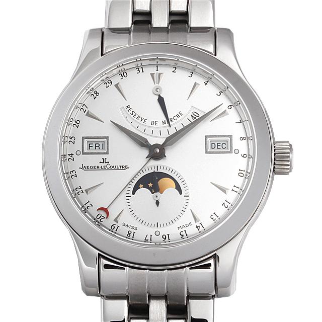 【48回払いまで無金利】ジャガールクルト マスターカレンダー Q151812A メンズ(9MJLU000007)【中古】【腕時計】【送料無料】