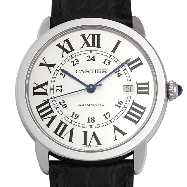 【48回払いまで無金利】カルティエ ロンド ソロ ドゥ カルティエ XL W6701010 メンズ(0066CAAN0797)【新品】【腕時計】【送料無料】