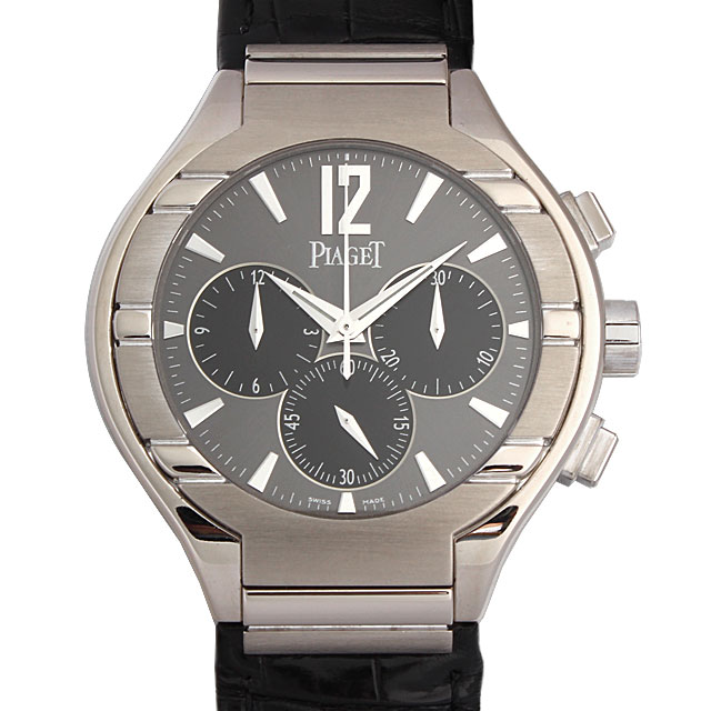 【48回払いまで無金利】SALE ピアジェ ポロ クロノグラフ 25周年記念 G0A29015 メンズ(001HPIAU0001)【中古】【腕時計】【送料無料】