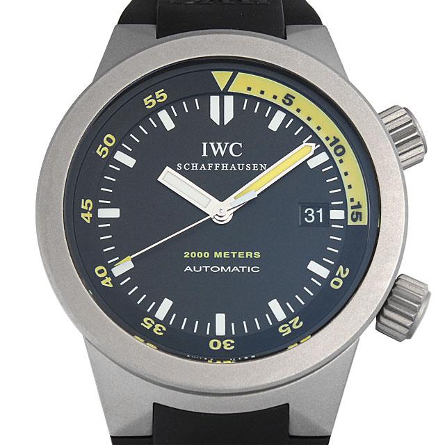 【48回払いまで無金利】SALE IWC アクアタイマー IW353804 メンズ(0050IWAU0002)【中古】【腕時計】【送料無料】