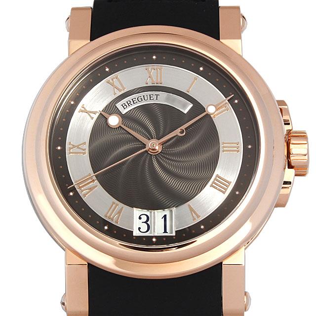 【期間限定ポイント最大10倍!1月24日(木)20時開始】ブレゲ マリーンII ラージデイト 5817BR/Z2/5V8 メンズ(0064BCAR0004)【新品】【腕時計】【送料無料】