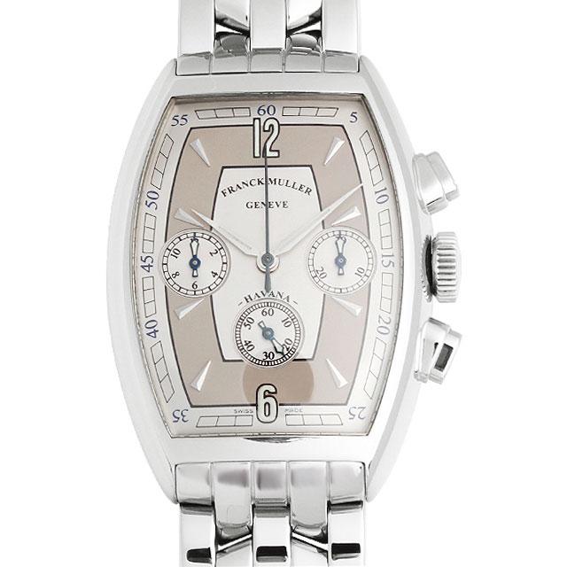 【48回払いまで無金利】フランクミュラー トノーカーベックス クロノグラフ ハバナ 5850CC HV AT OAC メンズ(008WFRAU0008)【中古】【腕時計】【送料無料】