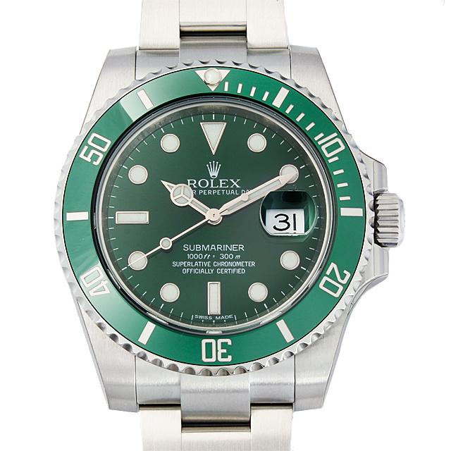 【48回払いまで無金利】ロレックス サブマリーナ デイト 116610LV グリーン メンズ(0CCTROAN0091)【新品】【腕時計】【送料無料】