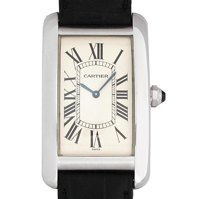 【48回払いまで無金利】カルティエ タンクアメリカン LM W2601651 メンズ(007UCAAU0004)【中古】【腕時計】【送料無料】