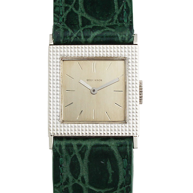 SALE ブシュロン スクエア レディース(006XBOUA0001)【アンティーク】【腕時計】【送料無料】