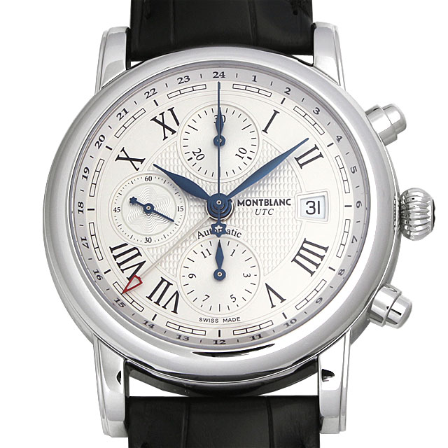 【48回払いまで無金利】モンブラン スター クロノグラフ UTC オートマティック 107113 メンズ(0066MLAN0036)【新品】【腕時計】【送料無料】