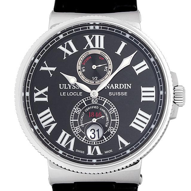 【48回払いまで無金利】ユリスナルダン マリーン クロノメーター 263-67/42 メンズ(004MUNAN0008)【新品】【腕時計】【送料無料】