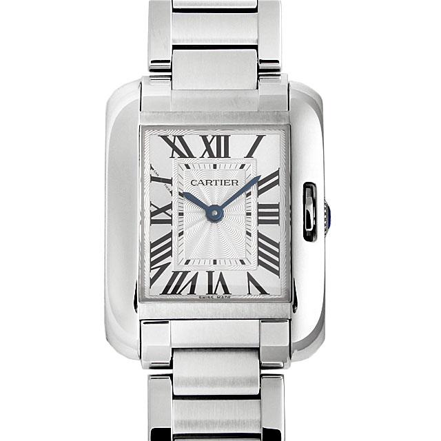 【48回払いまで無金利】カルティエ タンクアングレーズ SM W5310022 レディース(0066CAAN0678)【新品】【腕時計】【送料無料】