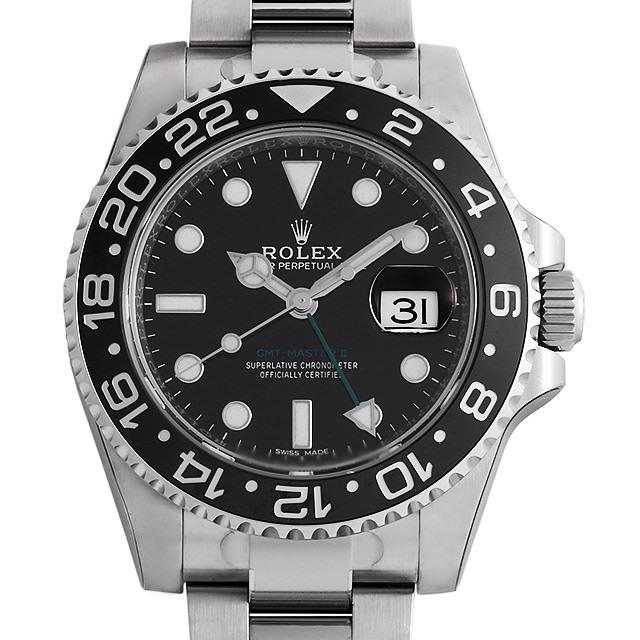 【48回払いまで無金利】ロレックス GMTマスターII 116710LN メンズ(0BA3ROAS0006)【中古】【未使用】【腕時計】【送料無料】