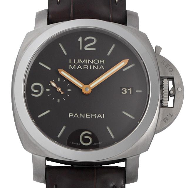 【48回払いまで無金利】パネライ ルミノールマリーナ 1950 3DAYS M番 PAM00351 メンズ(0C3BOPAS0001)【中古】【未使用】【腕時計】【送料無料】