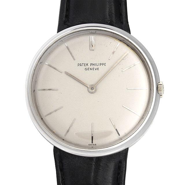 【48回払いまで無金利】パテックフィリップ カラトラバ 2591G メンズ(006XPPAA0001)【アンティーク】【腕時計】【送料無料】