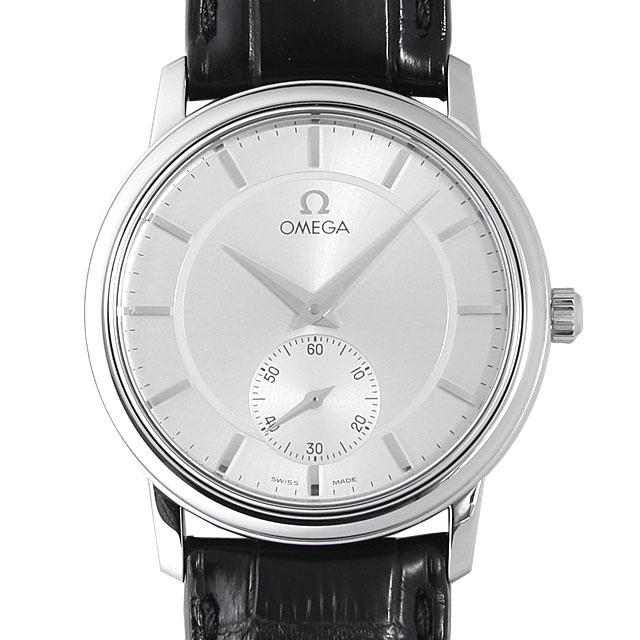 【48回払いまで無金利】オメガ デビル プレステージ 4820.31 メンズ(035XOMAU0001)【中古】【腕時計】【送料無料】