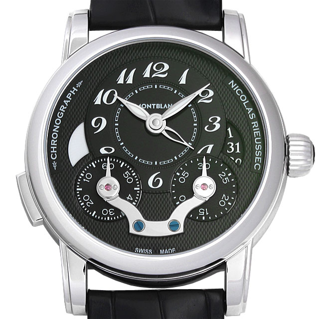【48回払いまで無金利】モンブラン ニコラ・リューセック クロノグラフ 106488 メンズ(0066MLAN0019)【新品】【腕時計】【送料無料】