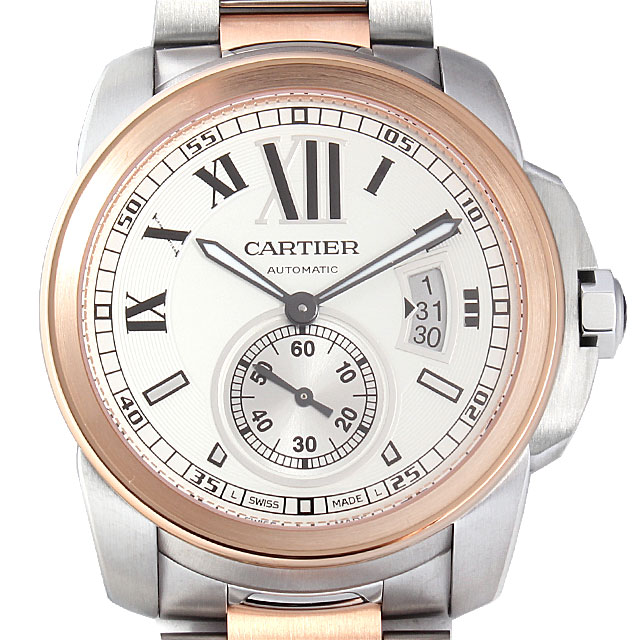 【48回払いまで無金利】カルティエ カリブル ドゥ カルティエ W7100036 メンズ(0066CAAN0430)【新品】【腕時計】【送料無料】