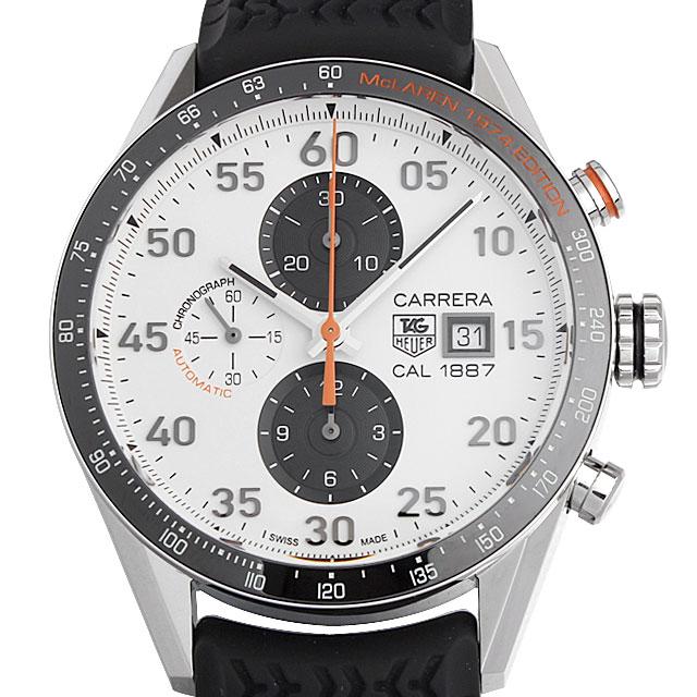 【48回払いまで無金利】タグホイヤー カレラ 1887 クロノグラフ マクラーレン 40周年記念モデル CAR2A12.FT6033 メンズ(002GTHAN0199)【新品】【腕時計】【送料無料】