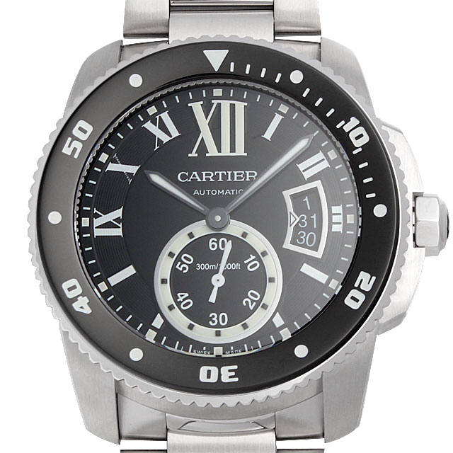 【48回払いまで無金利】カルティエ カリブル ドゥ カルティエ ダイバー W7100057 メンズ(0066CAAN0738)【新品】【腕時計】【送料無料】