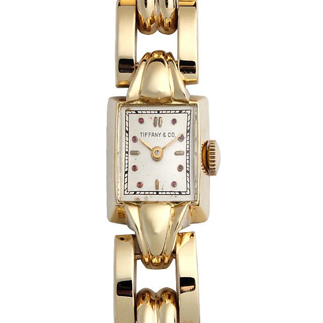 【48回払いまで無金利】SALE ティファニー レクタングルケース レディース(006XTIMA0001)【アンティーク】【腕時計】【送料無料】