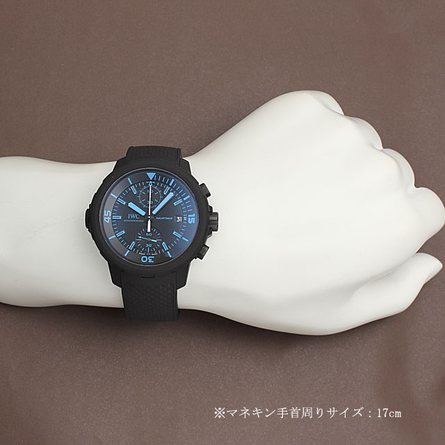 IWC aquatimer chronograph 50 years science for Galapagos limited 500 this IW379504 men (02RLIWAU0001)