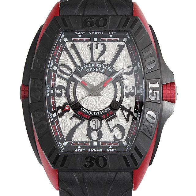 【48回払いまで無金利】フランクミュラー コンキスタドール グランプリ エルガ 9900SC DT GPG メンズ(069PFRAU0001)【中古】【腕時計】【送料無料】