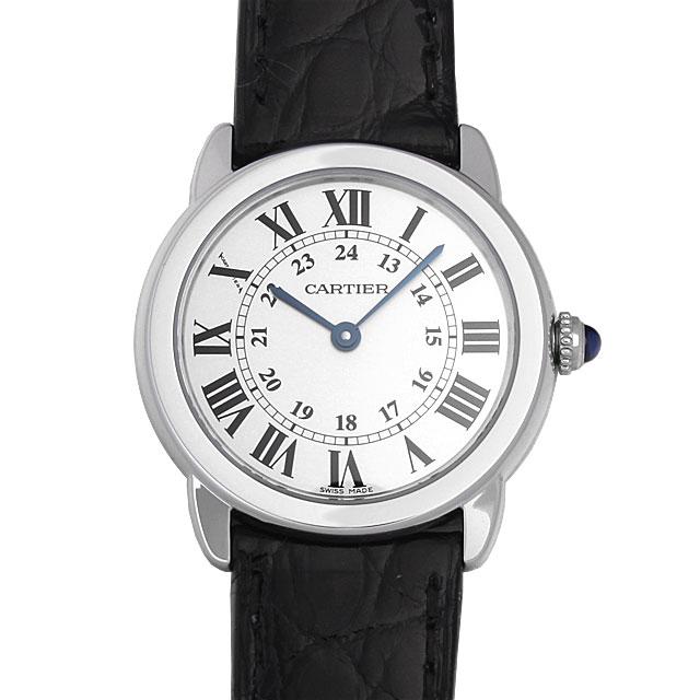 カルティエ ロンドソロ ドゥカルティエ SM W6700155 レディース(0066CAAN0601)【新品】【腕時計】【送料無料】