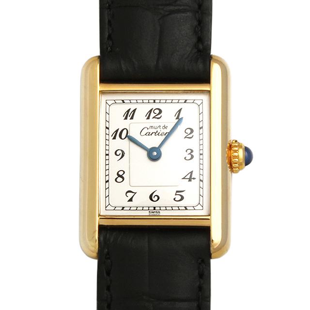 【48回払いまで無金利】カルティエ マストタンク ヴェルメイユ レディース(007UCAAU0025)【中古】【腕時計】【送料無料】