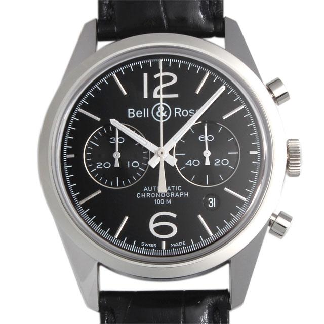 【48回払いまで無金利】ベル&ロス ヴィンテージ オフィサー ブラック BR126-94-SP OFFICER BLACK メンズ(002YBOAN0001)【新品】【腕時計】【送料無料】