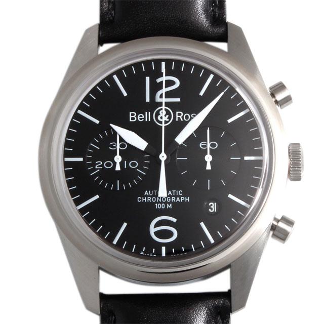 【48回払いまで無金利】ベル&ロス ヴィンテージ オリジナル ブラック BR126-94-SS ORIGINAL BLACK メンズ(002YBOAN0002)【新品】【腕時計】【送料無料】