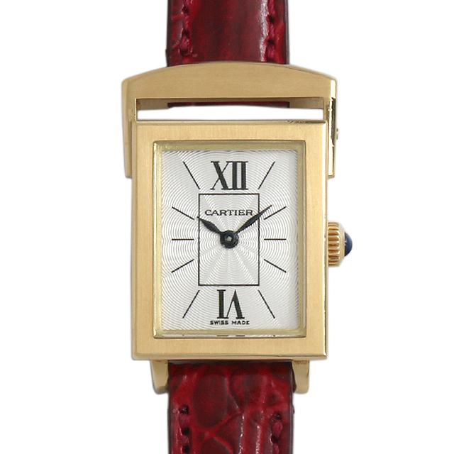 【48回払いまで無金利】SALE カルティエ メカニカル スクエア SM レディース(0015CAAA0002)【アンティーク】【腕時計】【送料無料】