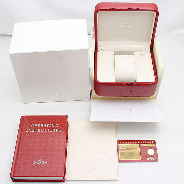 奥米伽速度主人专业人员标记II阿波罗11号35周年纪念型号3570-40人(006XOMAU0009)