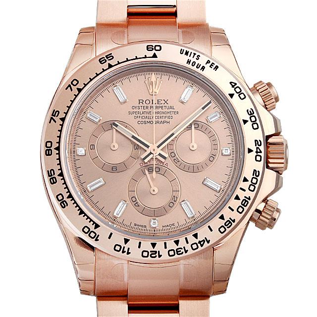 【48回払いまで無金利】ロレックス コスモグラフ デイトナ 8Pバゲットダイヤ/3Pダイヤ 116505A メンズ(0018ROAN0005)【新品】【腕時計】【送料無料】