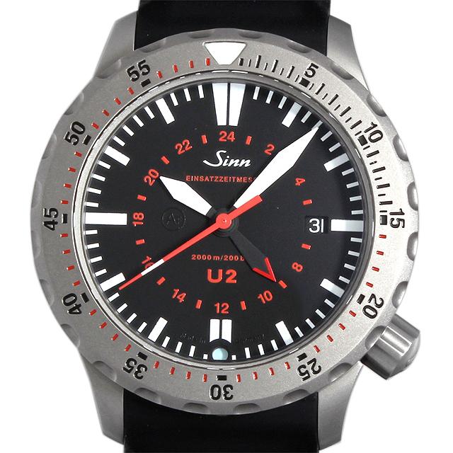 【48回払いまで無金利】ジン U2 Sinn メンズ(007USIAU0005)【中古】【腕時計】【送料無料】
