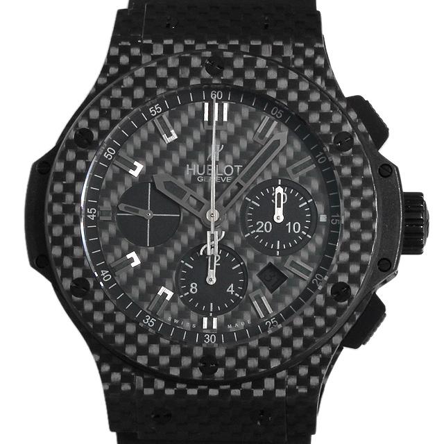 【48回払いまで無金利】ウブロ ビッグバン オールブラック カーボン 301.QX.1740.RX メンズ(008WHBAU0014)【中古】【腕時計】【送料無料】