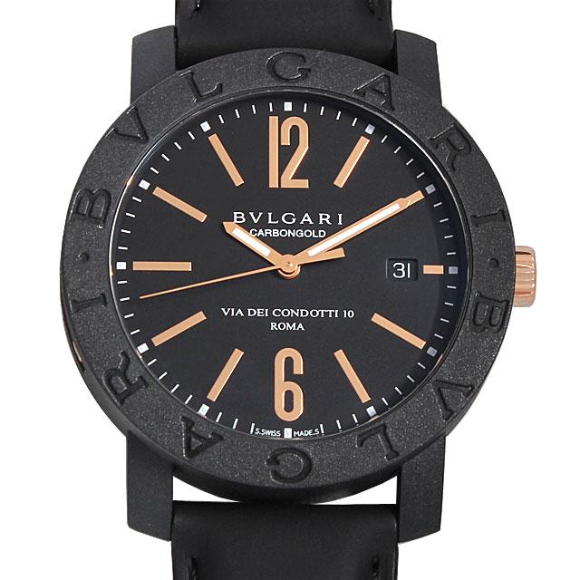 ブルガリ ブルガリブルガリ カーボンゴールド BBP40BCGLD メンズ(0068BVAN0043)【新品】【腕時計】【送料無料】